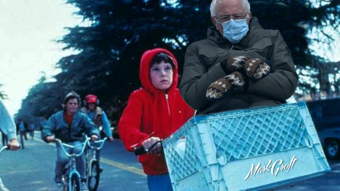 #berniesanders #berniesanderschair #ET #picsart #madewithpicsart #pa #myedit #meme