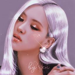 kpop aesthetic blackpink lalisa rose freetoedit