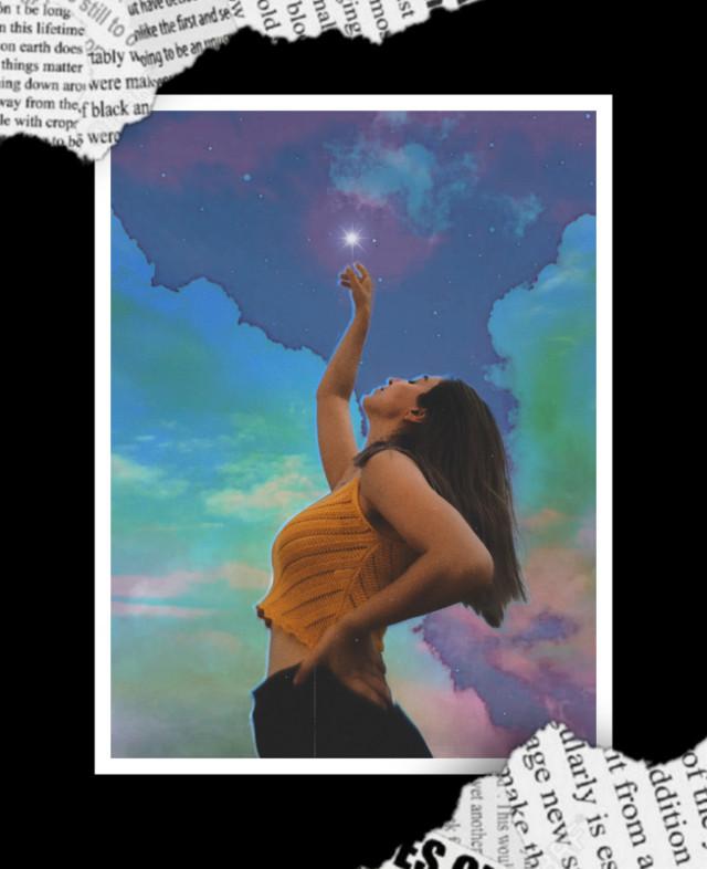 ʙᴇ ʙᴇᴀᴜᴛɪꜰᴜʟʟʏ, ᴡᴏɴᴅᴇʀꜰᴜʟʟʏ,  ᴀʙꜱᴏʟᴜᴛᴇʟʏ  ᴏᴜᴛ ᴏꜰ ᴘʟᴀᴄᴇ.  #aesthetic #girl #border #clouds #sky #skyandcloudsbackground #art