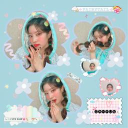 twice blue kpop girlgroup jyp dahyun dahyuntwice twicedahyun snow