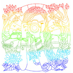 rainbow rainbows freetoedit colorpaint draw
