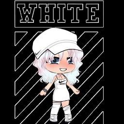 clothes animegirl black white anime picsart nike justdoit freetoedit