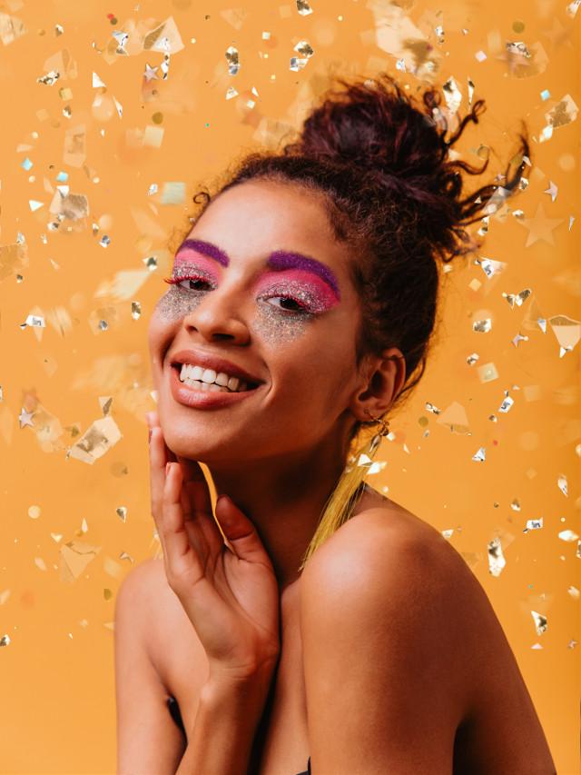 #freetoedit#CarnavalPicsArt #Carnaval #Carnaval2021 #confetti #sparkle #sparkles #makeup #motd #makeuplook #glitter #glittermakeup