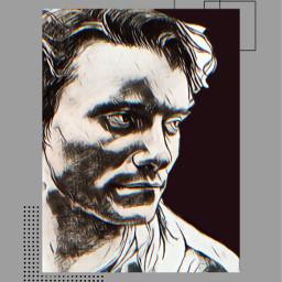 massimoranieri lafacciadelmare minimalist grayaesthetic fineline dots fanart minimalisticaesthetic poster freetoedit