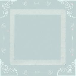 marco vintage portafoto scrap scrapbook papel azul freetoedit