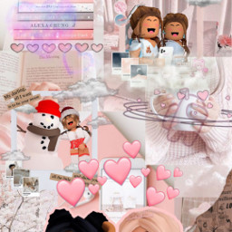 aesthetic pink pinkaesthetic roblox robloxaesthetic wallpapers anime pinkroblox girl girlpower freetoedit