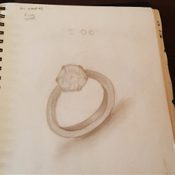 traditionalart art drawing sketch pencil paper ring marriage love diamond jewelry wedding