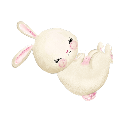 cute easter bunny rabbit freetoedit