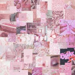 pinkaesthetic collage aestetic babygirl freetoedit