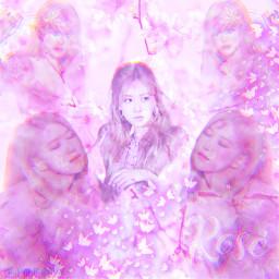 freetoedit rose roseblackpink soft cute pink glitch aesthetic jennie lisa jisoo blackpink yg korea bts exo itzy twice