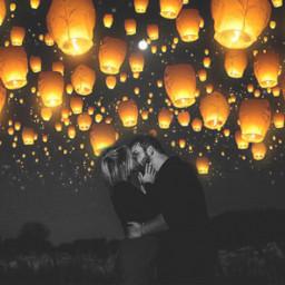 couple couplegoals lanterns lanternfestival remixit kiss freetoedit