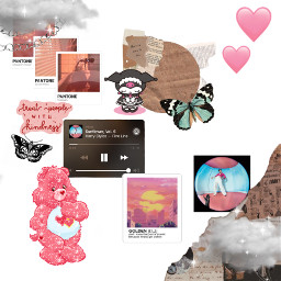 schoolwork school art collage harry harrys harrystyles pink butterfly tpwk treatpeoplewithkindness pantone clouds chain wrk work heart bear cute freetoedit