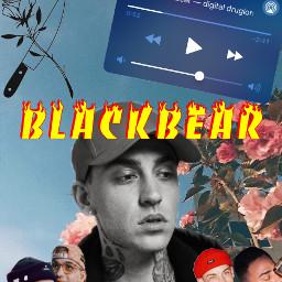 blackbearedit blackbearwallpaper freetoedit