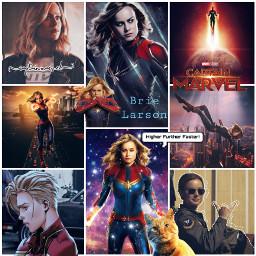 marvel avengers captainmarvel brielarson caroldanvers captainmarvelmovie captainmarvelart freetoedit