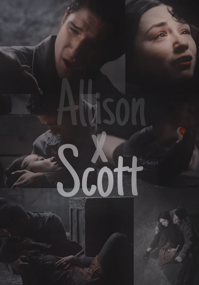 #allisonargent #scottmccall #teenwolf #scottxallison #freetoedit #scallison