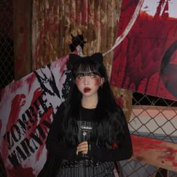 korea koreangirl halloween