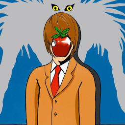 drawing digitalcolouring theprometeus deathnote renemagritte