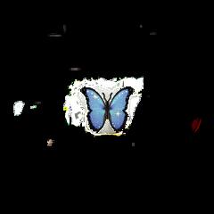 butterfly emoji neon iphone iphoneemoji iphonesticket sparkle star cute blue glitter freetoedit