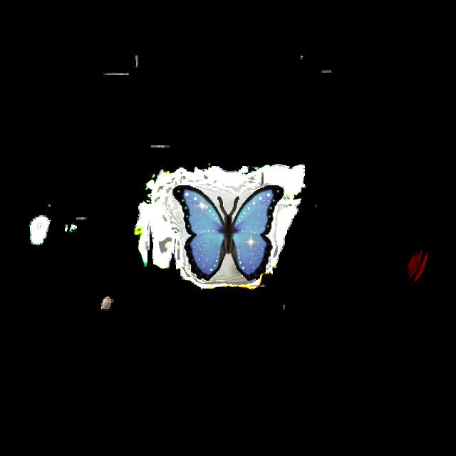 #butterfly #emoji #neon #iphone #iphoneemoji #iphonesticket #sparkle #star #cute #blue #glitter