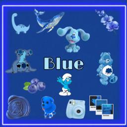 blue colors blueaesthetic freetoedit