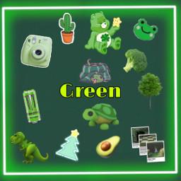 freetoedit green colirs greenaesthetic