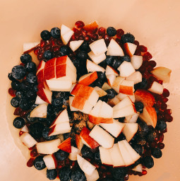 freetoedit color blue red apples blueberries food yum fruitbowl fruit super happy smile filter itookthis edited staysafe wearamask corona makeawesome remix ridaphotography daisysquad