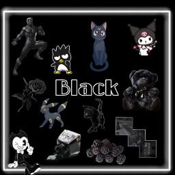 black color blackaesthetic freetoedit