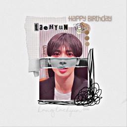 taehyun kpop txt cute happybday happybdaytaehyunnie tinybdayboi freetoedit