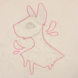 origionalart traditionalart sketch doodle highlighter seaslug