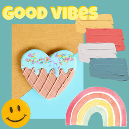 colorful goodvibes freetoedit