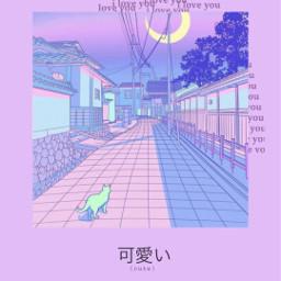 anime animevibes aesthetic purple purpleaesthetic aestheticpurple purplebackground freetoedit