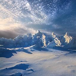 freetoedit remixit nature landscapephotography beauty pretty landscape beautiful follow fanart peace happytaeminday winter snow blue mountains