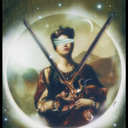 mytarots collection minorarcana suitofswords symbolism dreamy magical stestyle ste2021 madewithpicsart love