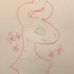 origionalart traditionalart sketch hogighter doodle seaslug