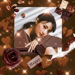 madewithpicsart photomanipulation heypicsart cute chocolate love brown creative
