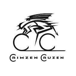 logo logodesign logodesigners biker bikerboy bikergirl roadbike 700cc zen crimzencruzen hellonwheels cclogo cc graphicdesign