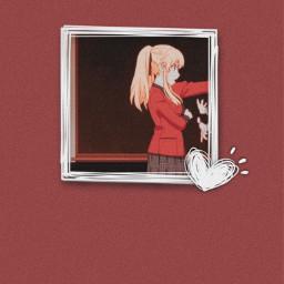 anime wallaper aestetic marysatome kakeguri freetoedit