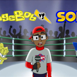 cartoonbeatboxbattles sonic spongebob freetoedit