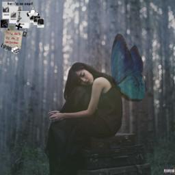 fairy grunge black aesthetic dark interesting art foreste sad people photography travel sky nature luciamoon freetoedit