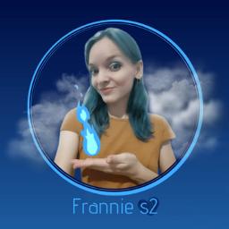 frannies2 bluehair cabeloazul azul blue logo freetoedit