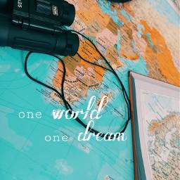 oneworldonedream traveltheworld journeybegins