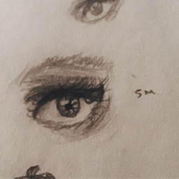 art traditionalart sketch outline drawing eye eyesketch eyedrawing