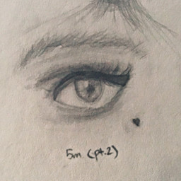 art traditionalart sketch outline drawing eye eyedrawing eyesketch