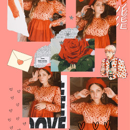 valentinesday ootd fashion art bts collage red interesting edit freetoedit