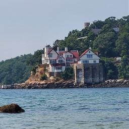 castle ocean cliffside water freetoedit pcdreamdestination dreamdestination