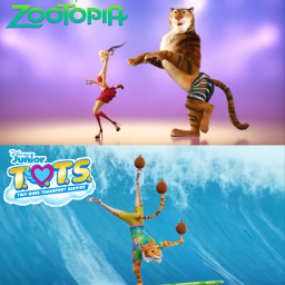 freetoedit zootopia totstinyonestransportservice gazelletryeverything tigerdancer