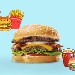 hamburger voteme aesthetic sticker freetoedit ircfilltheburger filltheburger