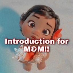 moana baby seashells introduction m&m me freetoedit m