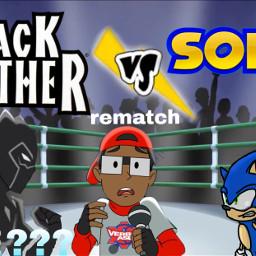 cartoonbeatboxbattles blackpanther sonic freetoedit