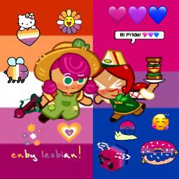 beetcookie sandwichcookie beetxsandwich cookierun cookierunovenbreak bi lesbian nonbinary nonbinarylesbian freetoedit